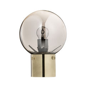 Veioza aurie cu glob oglinda Silver Glass Bloomingville