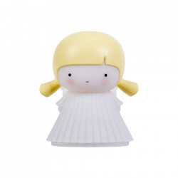 Veioza multicolora din PVC cu LED 13 cm Angel A Little Lovely Company