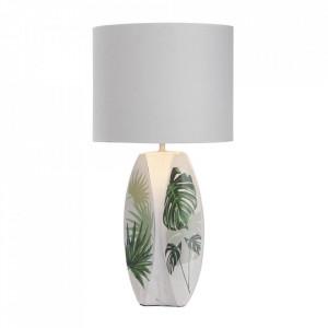 Veioza multicolora din PVC si ceramica 59 cm Palma Candellux