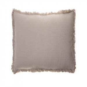 Perna decorativa patrata crem din bumbac 45x45 cm Enes Cream Zago