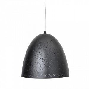 Lustra neagra din metal 40 cm Spring Bloomingville