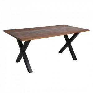 Blat maro din lemn 90x200 cm Factory Raw Materials
