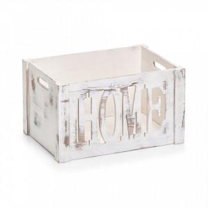 Cutie alba din lemn Home Medium Zeller