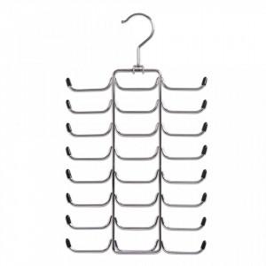 Umeras argintiu din metal pentru cravate si curele Tie Belt Bar Zeller