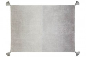 Covor dreptunghiular gri din bumbac 120x160 cm Ombré Dark Grey/Grey Lorena Canals