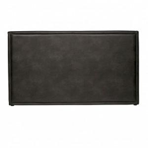 Tablie pat neagra din piele ecologica 177 cm Snooze Be Pure Home