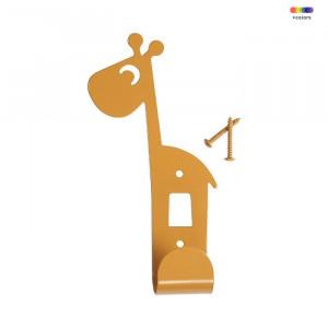 Cuier galben mustar din metal Giraffe Mustard Done by Deer