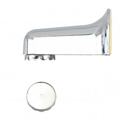 Suport magnetic argintiu din plastic pentru sapun Soap Holder Wenko