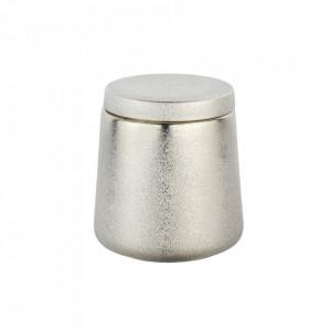Cutie cu capac auriu sampanie din ceramica pentru bijuterii Glimma Wenko