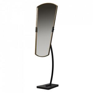 Oglinda neagra din fier 48x166 cm Arrogant Be Pure Home