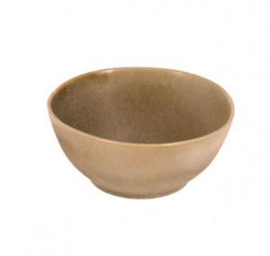 Bol maro din ceramica 17 cm Vreni La Forma