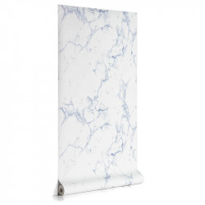 Rola tapet albastra din hartie 53x1000 cm Marbela La Forma