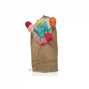 Opritor usa multicolor din textil Tulip Doorstop Versa Home