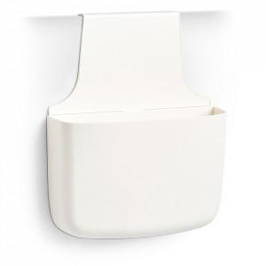 Suport bucatarie alb din plastic pentru usa Utensil Holder Zeller