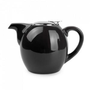 Ceainic negru din ceramica si inox 750 ml Camellia Aerts