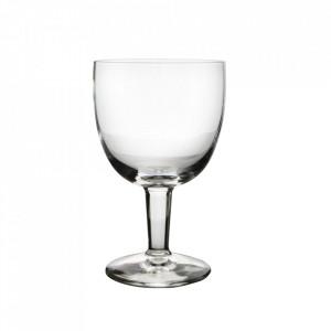 Set 6 pahare transparente din sticla 450 ml Blanco Aerts