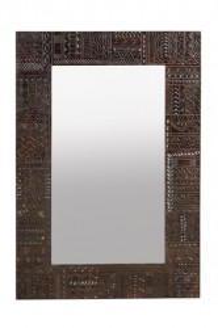 Oglinda dreptunghiulara din lemn si sticla 80x120 cm Jeroglifico Giner y Colomer