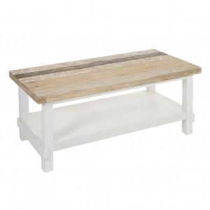 Masa maro/alba din lemn mindi 59x120 cm Rabat Santiago Pons
