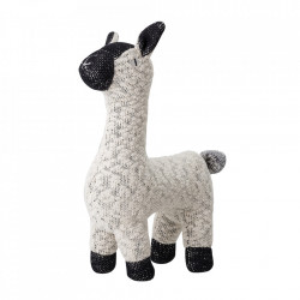 Jucarie alba/neagra din bumbac Sheep Bloomingville