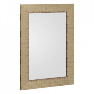 Oglinda dreptunghiulara maro din MDF 56x76 cm Tomar Ixia
