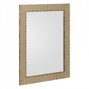 Oglinda dreptunghiulara maro din MDF 66x86 cm Tomar Ixia
