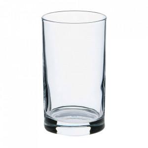 Set 12 pahare transparente din sticla 210 ml Pampus Mammoet