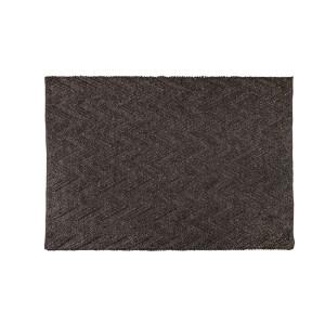 Covor gri inchis din lana 240x170 cm Punja Graphite Zuiver