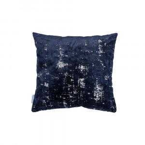 Perna albastru inchis 45x45 cm Sarona Night Blue Zuiver