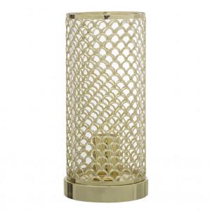 Veioza aurie din metal 28 cm Cilinder Bloomingville