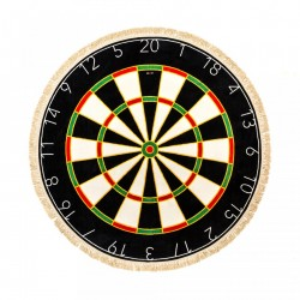 Covor rotund cu franjuri 200 cm Dartboard Seletti