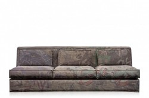 Canapea verde pentru 3 persoane Med Versmissen