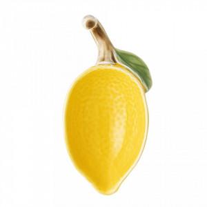 Sosiera galbena din ceramica 11x5,5 cm Lemon Bloomingville