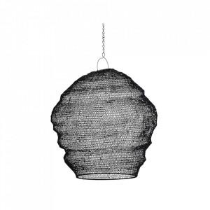 Abajur negru din fier Knitted Wire Shade Madam Stoltz