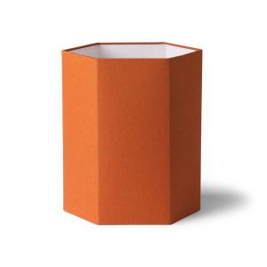 Abajur portocaliu din iuta Khalid HK Living