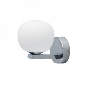 Aplica argintie/alba din metal cu LED Aqua MW Glasberg