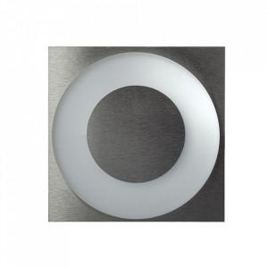 Aplica argintie din aluminiu si plastic Polar S Milagro Lighting
