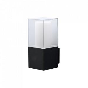 Aplica exterior gri/alba din aluminiu si plastic cu LED Mercury Line MW Glasberg