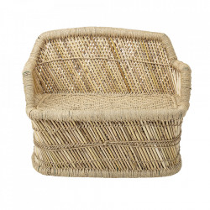 Banca maro din bambus si iuta 61 cm Nature Bloomingville