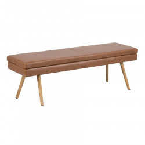 Bancheta maro din poliuretan si lemn 140 cm Nora Actona Company