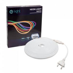 Banda alba LED Neon Flex Milagro Lighting