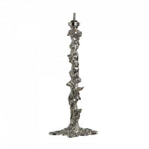 Baza argintie din aluminiu pentru veioza35 cm Body Pols Potten