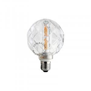 Bec dimabil LED E27 4W Barry Clear Concave Zangra