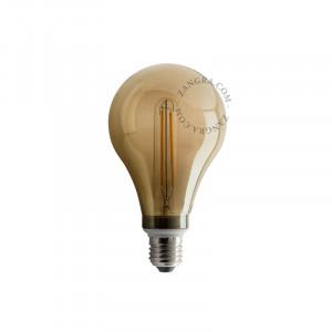 Bec dimabil LED E27 4W Roberta Small Smoked Filament Zangra