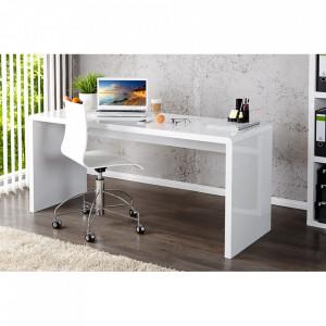 Birou alb din MDF 60x140 cm Fast Invicta Interior