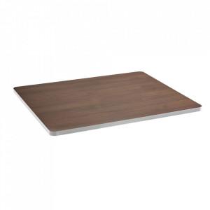 Blat pentru masa maro/alb din lemn 60x75 cm Sanba Serax