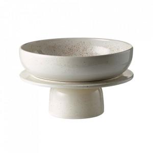 Bol alb din ceramica 25 cm Hour Bolia