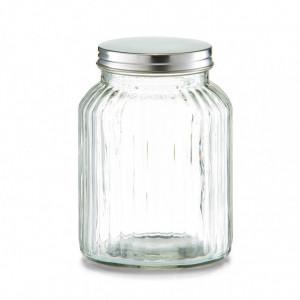 Borcan cu capac transparent din sticla 1,1 L Soja Zeller