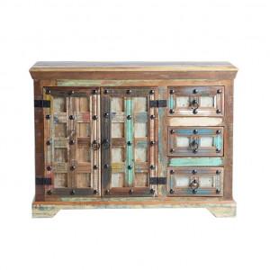 Bufet inferior multicolor din lemn 110 cm Theo Giner y Colomer
