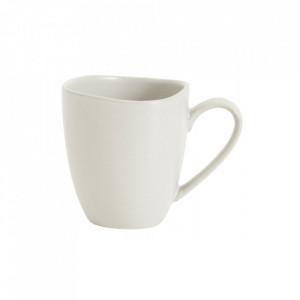Cana alba din ceramica 9x10 cm Refine Cup Nordal