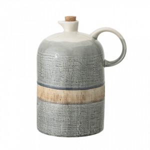Carafa multicolora cu dop din ceramica 1,2 L Lid Bloomingville